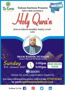 Taleem Family Event