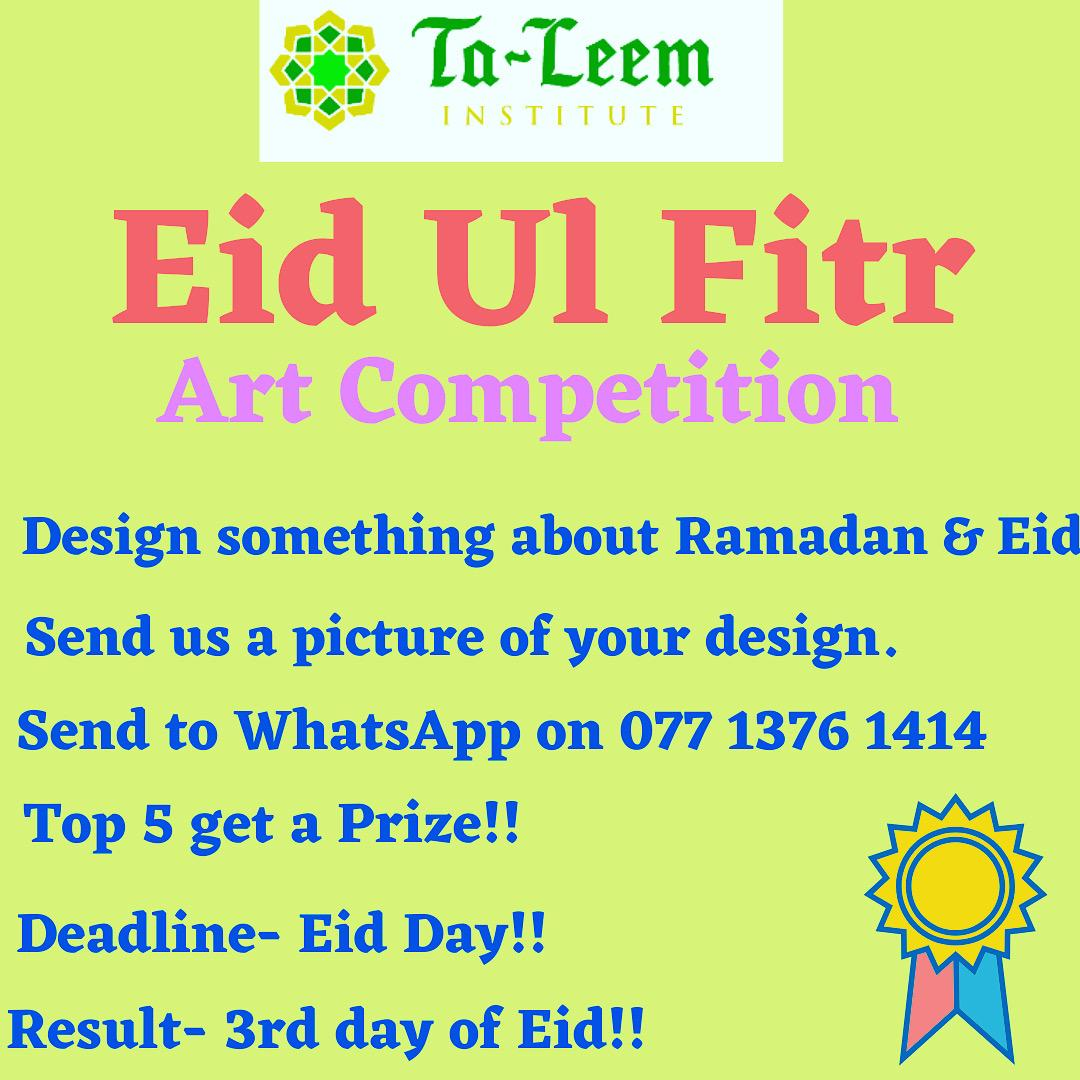 Eid Ul Fitr – Art Competition