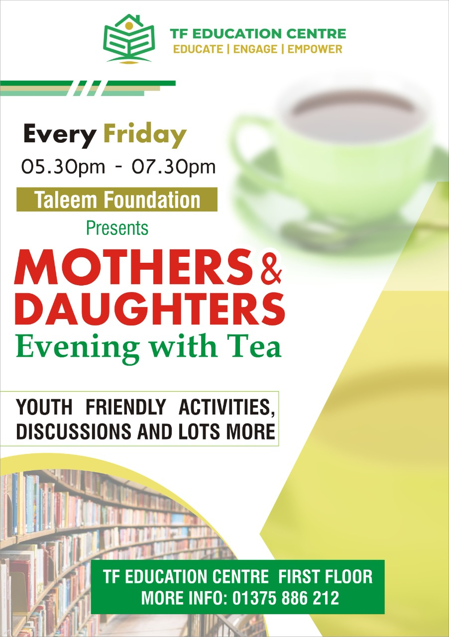 Mothers & Daughters with Evening Tea
